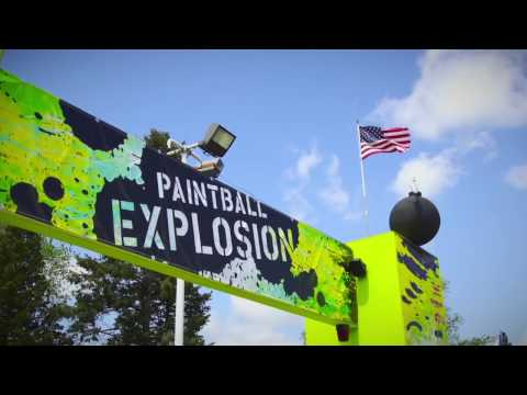 Take A Break From the Ordinary This Weekend- Play Paintball