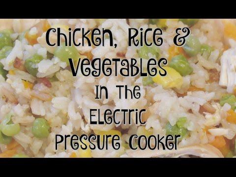 electric pressure cooker chicken recipes