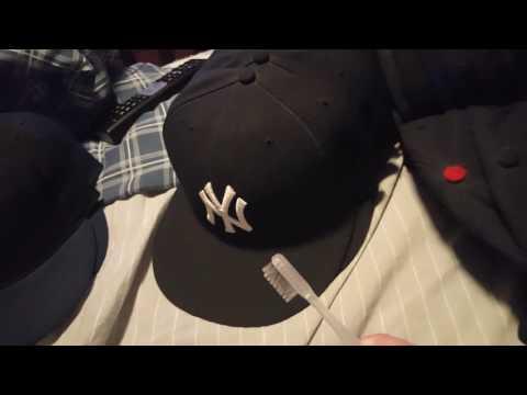 Cleaning hat brim