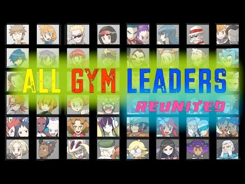 All Pokemon Gym Leaders