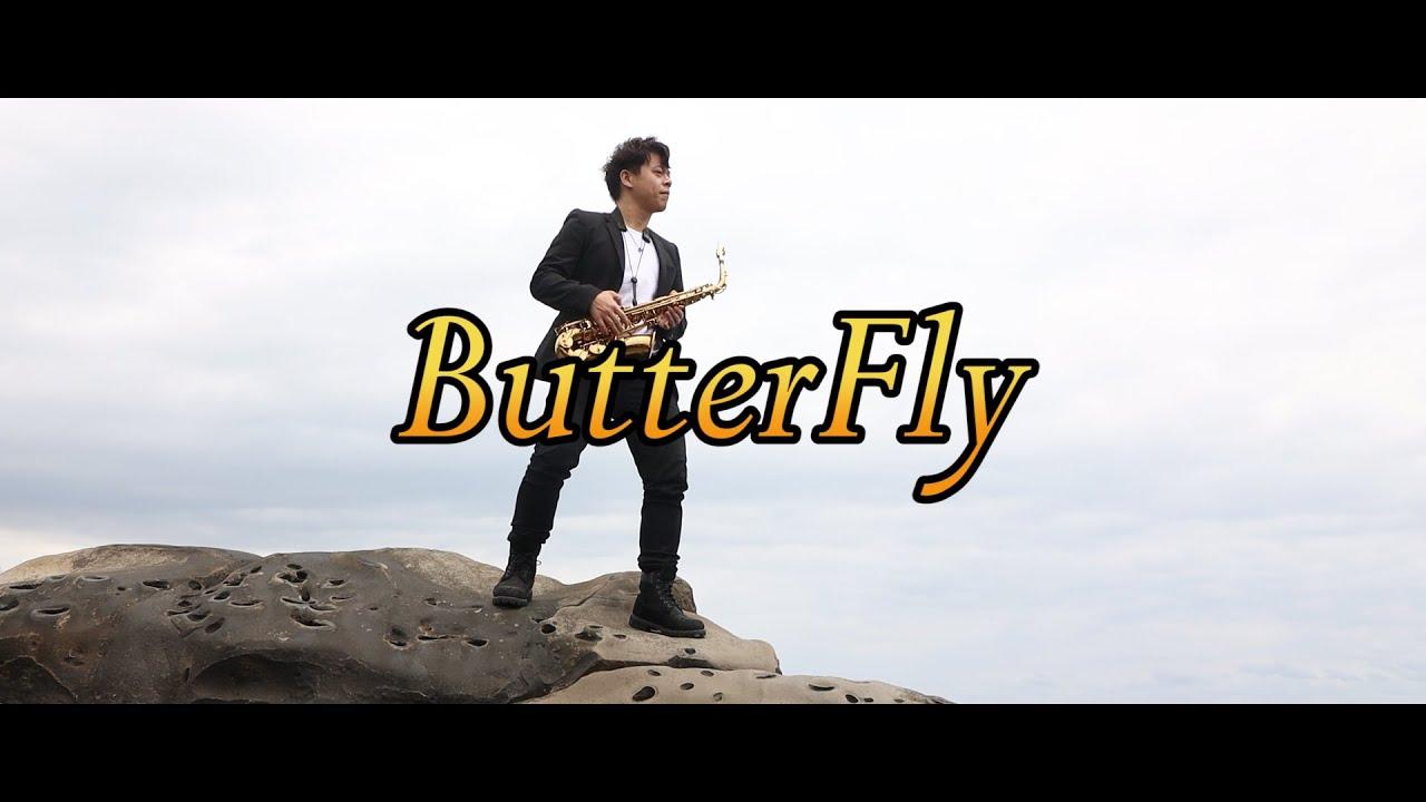 【數碼寶貝OP】Butterfly-和田光司 (Saxophone cover by 小原) Digimon Adventure - YouTube