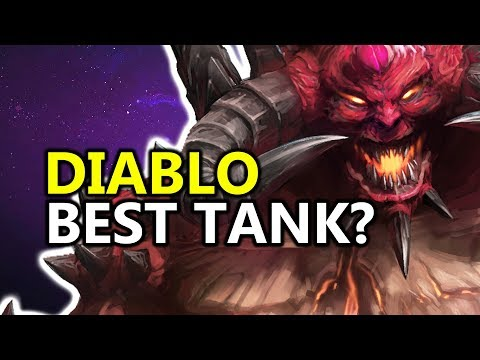 ♥ Is Diablo The Best Tank Now?! - Heroes of the Storm (HotS Gameplay)