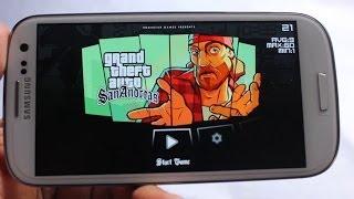GTA San Andreas on Galaxy S3 i9300