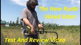 New RYOBI 2 Cycle Gas String Trimmer Review & Test