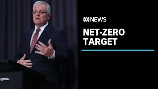 Prime Minister Scott Morrison announces net-zero target by 2050 | ABC News