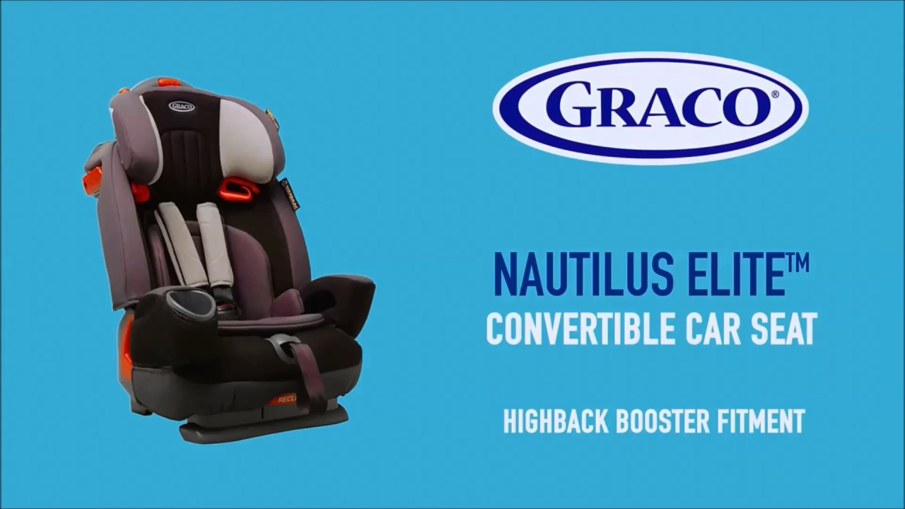 cb7eaf2988d8 Smyths Toys - Graco Nautilus Aluminium Group 1-2-3 Car Seat Black Grey