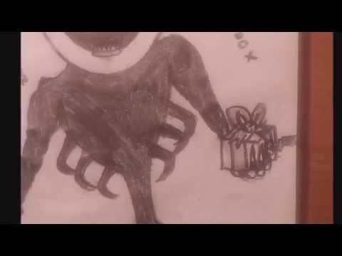 How To Draw Nightmarionnet FNAF 4/Como Dibujar A Nightmare Puppet