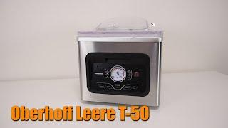 промышленный вакуумный упаковщик oberhof leere т 50