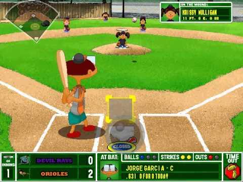 Backyard Baseball General Tips Youtube