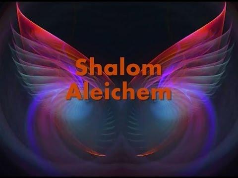 Shalom Aleichem lyrics