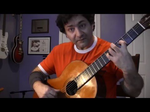 Joy to the world (solo guitar) - Instructional Demo with PDF of Notation/Tab