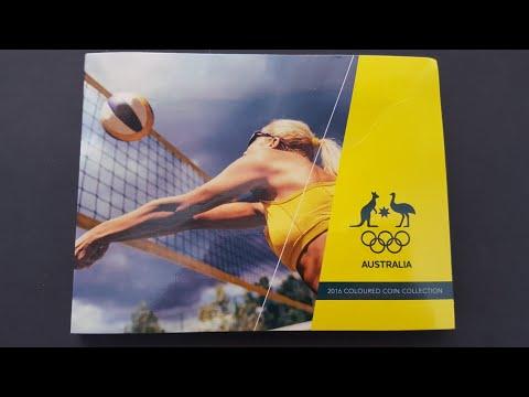 Australia 2016 $2  Olympic Coin Set.