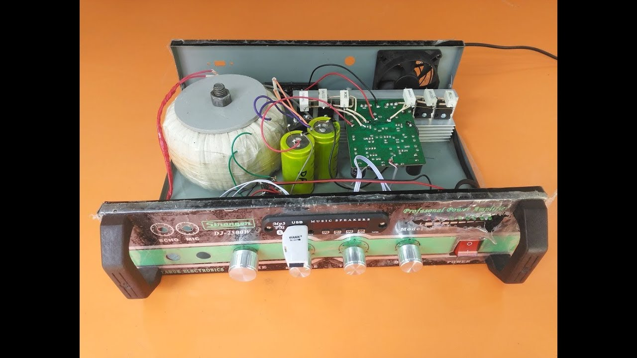 How To Make An Amplifier 200 Watts Using Stk4141 With Diagram Clip Stk4050 Audio 200w Output