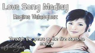 Regine Velasquez - Love Song Medley w/ lyrics