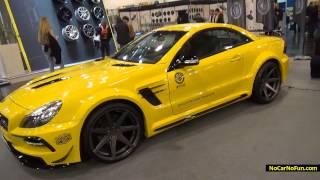 Mercedes Benz SL R230 Facelift by Piecha Design Videos
