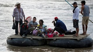 Los migrantes se apresuran a entrar en México tras el acuerdo entre AMLO y Trump