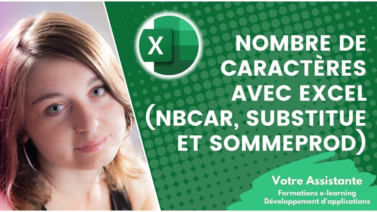 Compter Le Nombre De Caracteres Avec Excel Formules Nbcar
