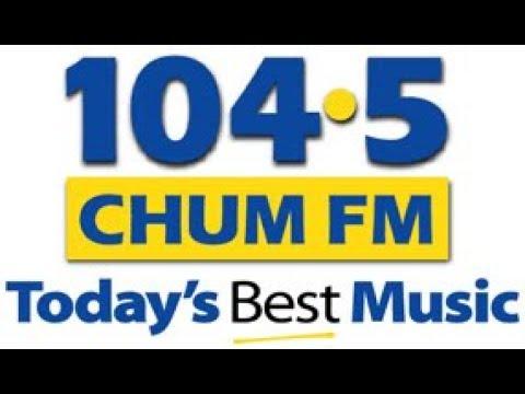 CHUM 104.5 Toronto - Roger Ashby Announces retirement - October 2018