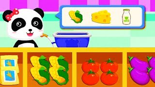 Fun Shopping Baby Games - Learn About The Daily Lives Of Animals - Children Fun Educational Games