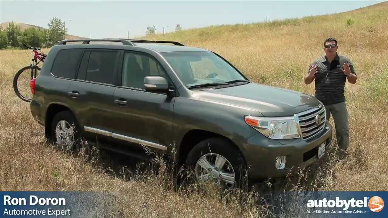 2013 Toyota Land Cruiser Test Drive U0026 SUV Video Review