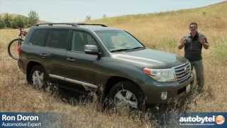 2013 Toyota Land Cruiser Test Drive & SUV Video Review