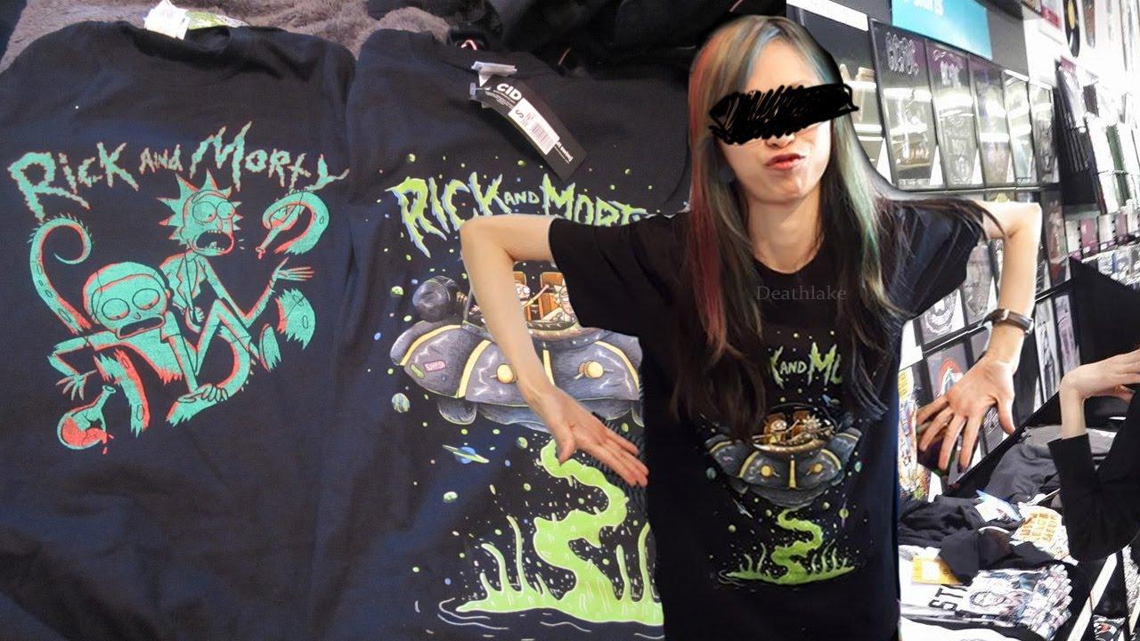 Rick and Morty HMV T-shirts merch merchandise HUNT  review 991ce965b