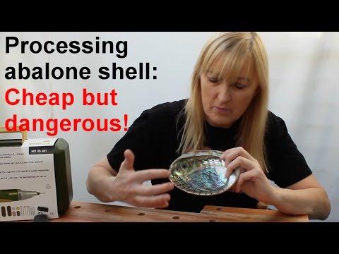 Processing abalone shell: cheap but dangerous!