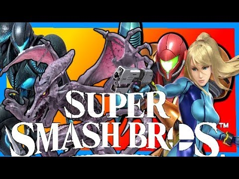 Samus And Zero Suit Samus Vs Ridley And Dark Samus Super Smash Bros Ultimate