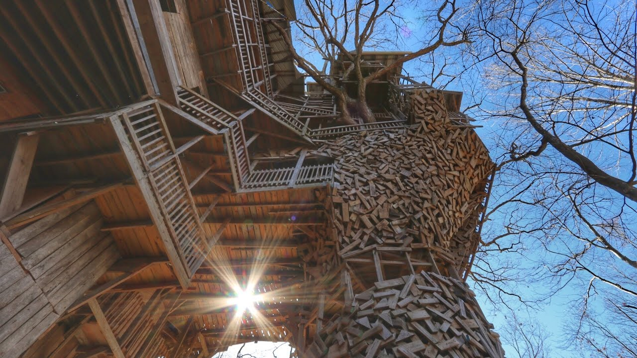 worlds largest treehouse condemned ministers treehouse