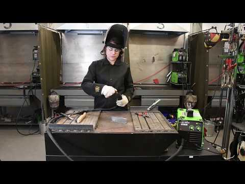 Welding with the Forney Easy Weld® 140 FC-i