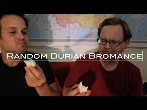 Random Durian Bromance w/ Trevor James   Eating Durian Cream Puffs in Chengdu
