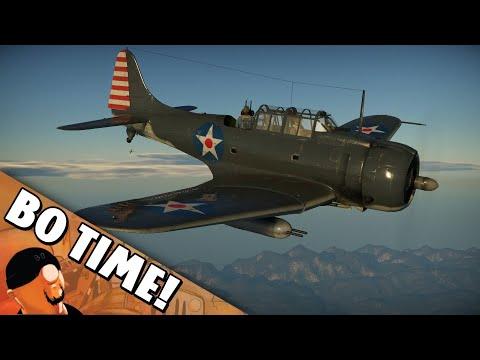 War Thunder - SBD-3 Dauntless