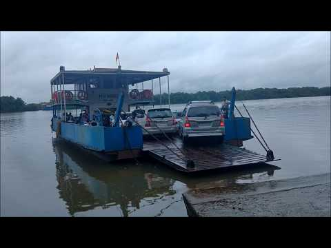 Ferry from Old Goa to Divar Island