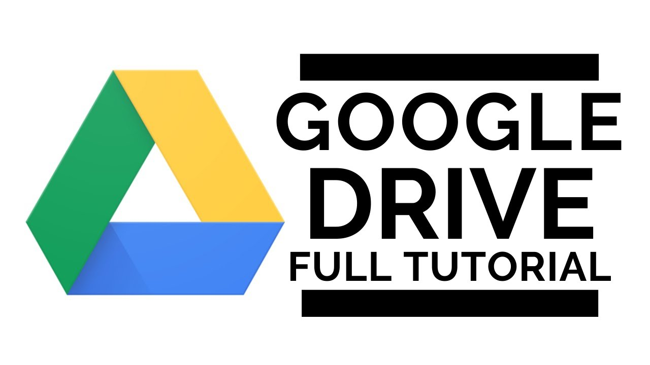 Google Drive Full Tutorial 2020 Youtube