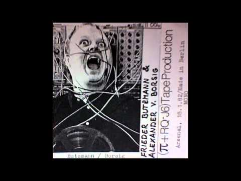 Frieder Butzmann & Alexander Von Borsig - Live At The Arsenal, 18.1.82, Berlin-West (2)