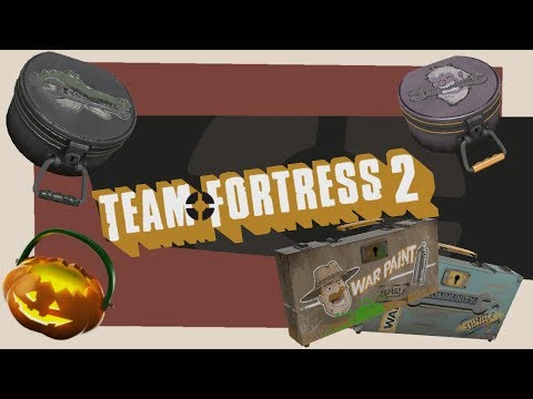Jungle Scream Inferno Fortress Unusual Unboxing & Giveaway! [Team Fortress 2]