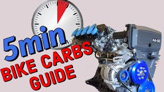 How to install BIKE CARBS on a CAR engine - 5 minute guide / tutorial