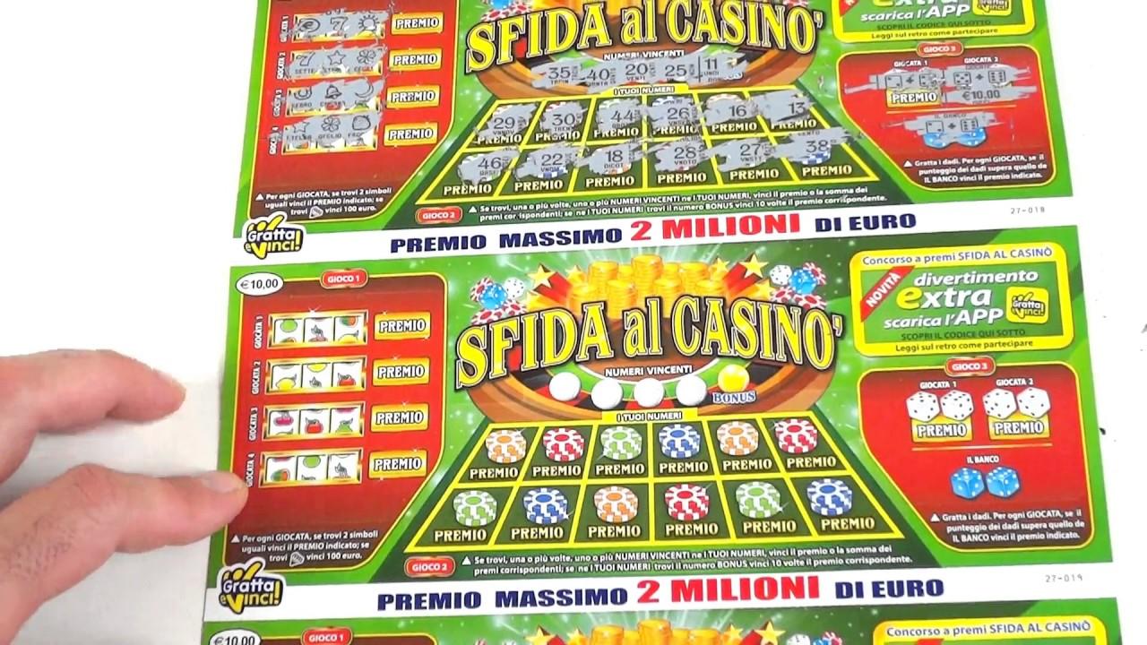 sfida al casino app gratta e vinci