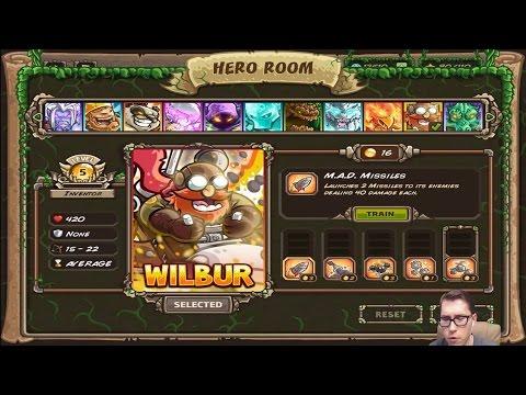Прохождение Kingdom Rush Origins 3 - WATERFALLS TRAIL + Новый Герой REGSON