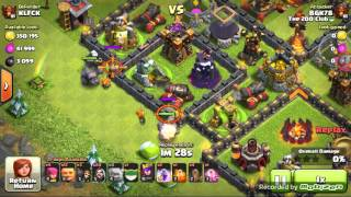 Clash Of Clans~Le farm en champion 3 un régale