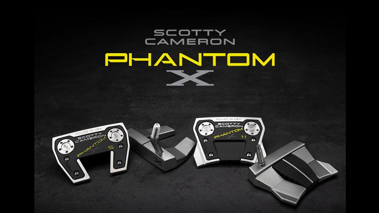 새로운 2021 스카티카메론 Phantom X Mallets 퍼터를 소개합니다.