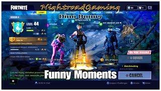 Fortnite Funny Moments Dino Bunny