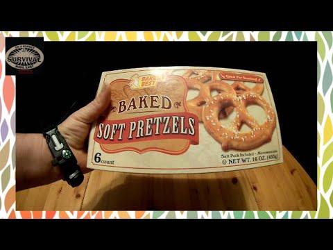 Baked Soft Pretzels (dollar tree food review)