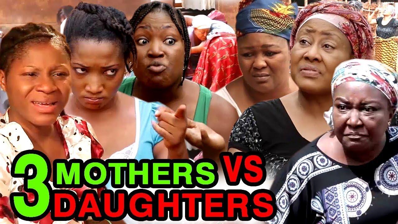 Download 3 Mothers VS 3 Daughters ( COMPLETE MOVIE) - Ebele Okaro & Destiny Etiko 2020 Latest Nigerian Movie