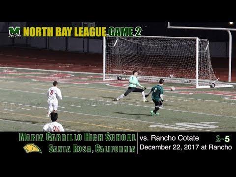 2017 12 22 Maria Carrillo Varsity Soccer v Rancho Cotate
