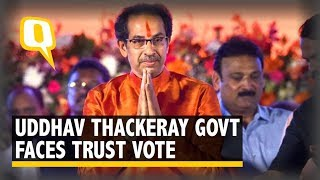 Maharashtra: Uddhav Thackeray Government Faces Floor Test