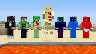Minecraft, But If I Die My Friends LOSE (Rematch)