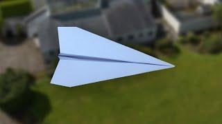 طائرة ورقية سهلة الصنع   تطير لمسافات بعيدة