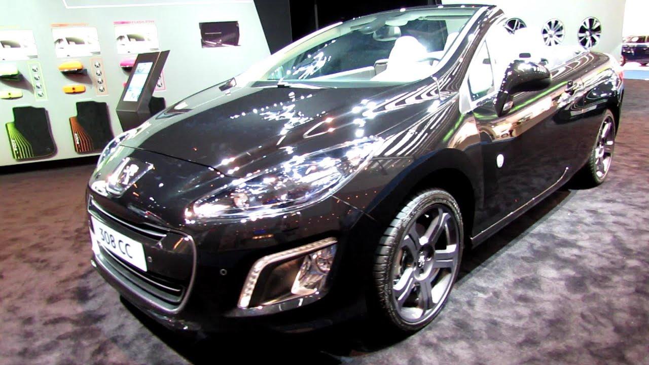 2014 Peugeot 308CC Convertible - Exterior and Interior Walkaround ...