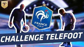 Challenge : Bixente Lizarazu et Frank Leboeuf et le challenge des jongles !